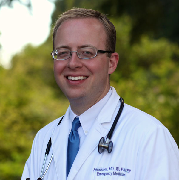 Nathaniel Ryan Schlicher, MD, JD, MBA, FACEP